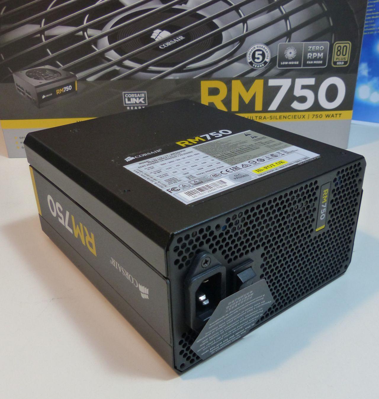 Corsair RM750 Ultra Quiet Power Supply Unit
