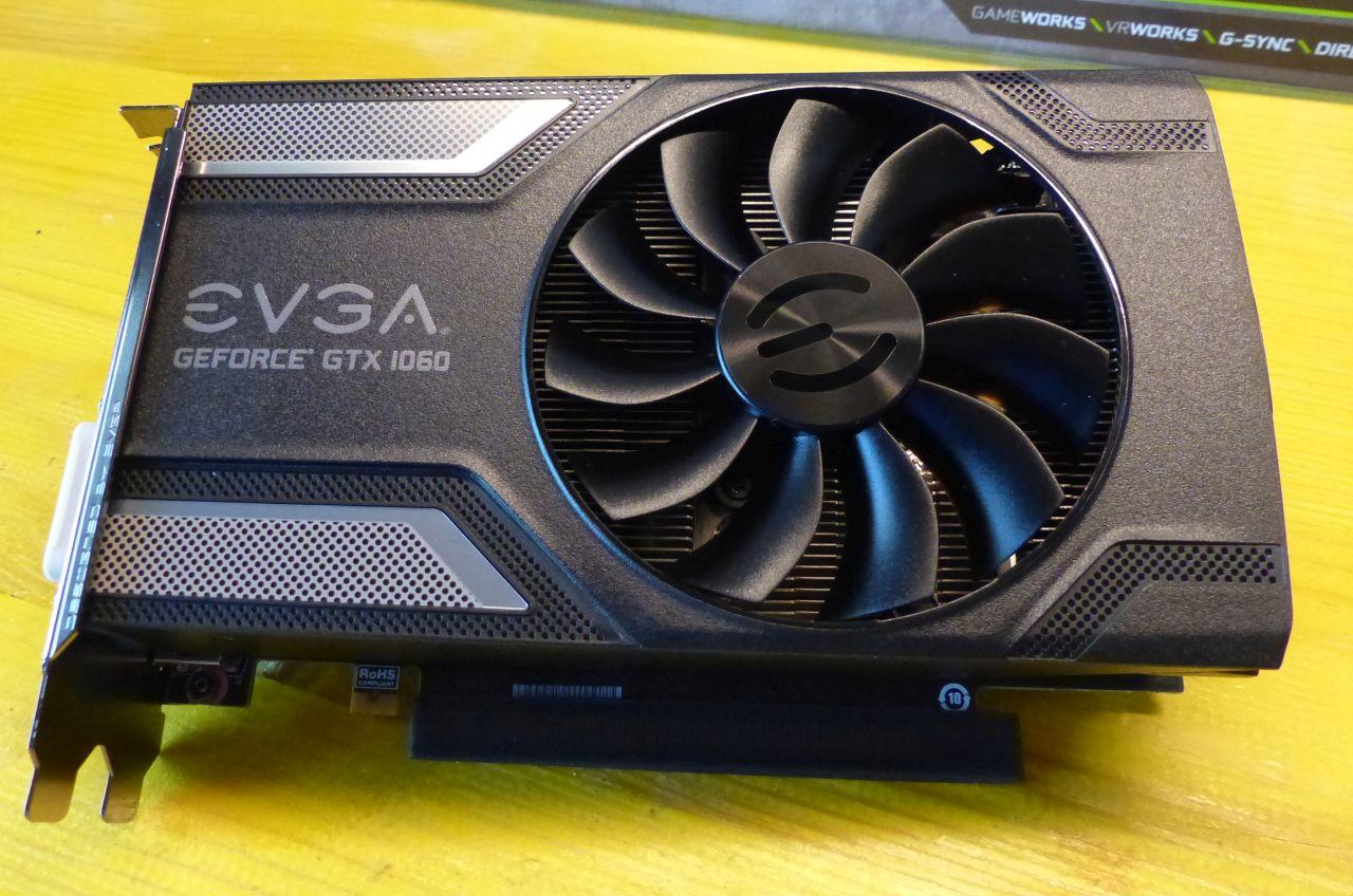 EVGA GeForce GTX 1060 SC 6GB GDDR5