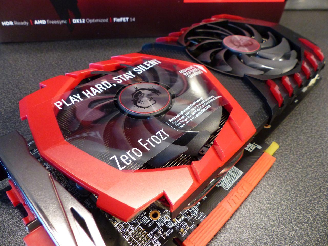 MSI Radeon RX 470 Gaming-X 8GB