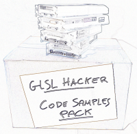 GLSL Hacker, code sample pack