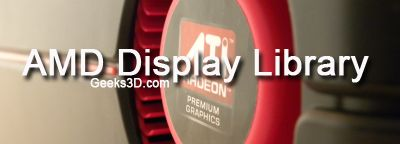 AMD Display Library SDK