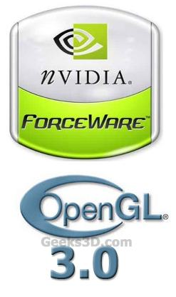 ForceWare and OpenGL 3.0