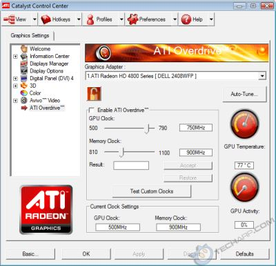 ATI Radeon HD 4870 Overclocking Guide | Geeks3D
