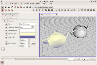 K 3d free 3d modeling and animation software geeks3d Free 3d software