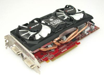 Force3D Radeon HD 4870 Black Edition Graphics Card