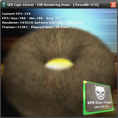 GPU Caps Viewer FurMark Demo and Forceware 180.42