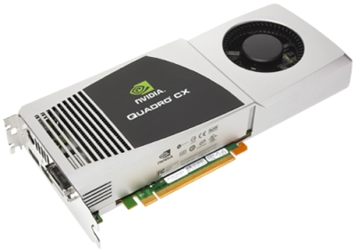 NVIDIA Quadro CX Graphics Card