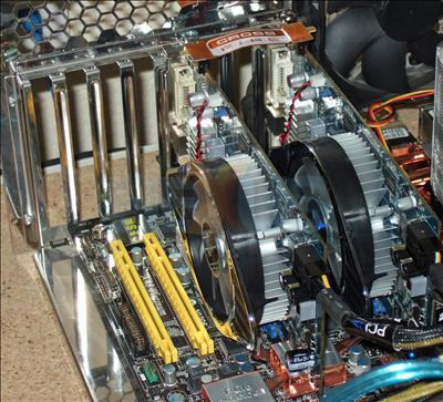 Radeon HD 4830 Crossfire