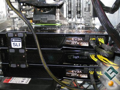 Cryostasis PhysX Benchmark 3-Way SLI
