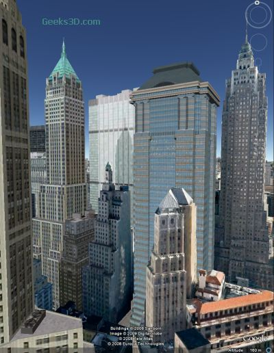 GoogleEarth - New York City in 3D