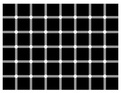 Black Ball Optical Illusion
