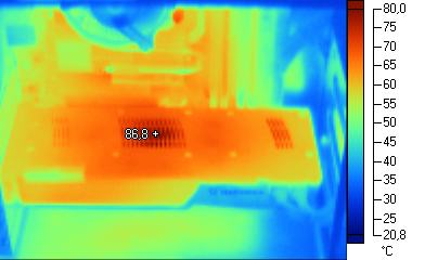 Thermal Imaging: GeForce GTX 260