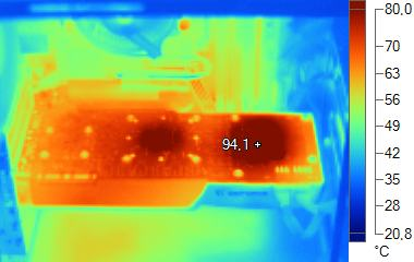 Thermal Imaging: GeForce GTX 285