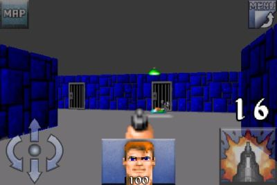 Wolfenstein 3D for iPhone