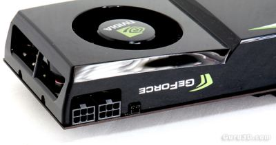 NVIDIA GeForce GTX 275: 2 x 6-pin power connectors