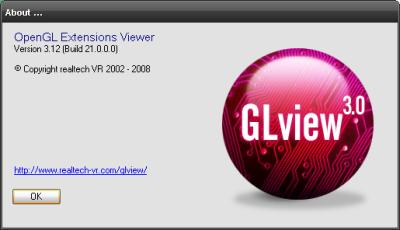 GLView - OpenGL Extensions Viewer