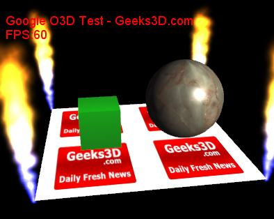Google O3D Demo