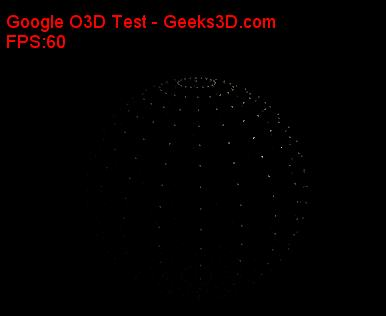 Google O3D demo - Point rendering