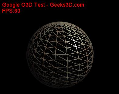 Google O3D demo - Wireframe rendering