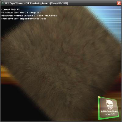 GPU Caps Viewer - Fur Demo