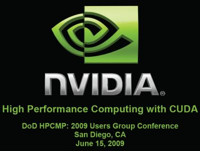 NVIDIA CUDA