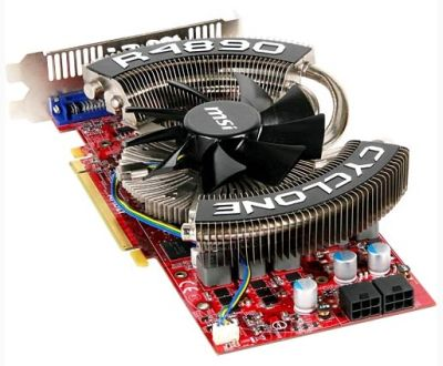 MSI Radeon HD 4890 Cyclone Series