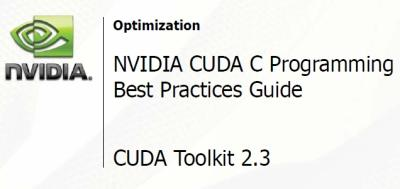 NVIDIA CUDA Programming Best Practices G