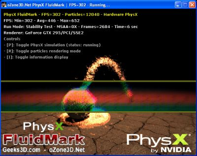 FluidMark with built-in postFx