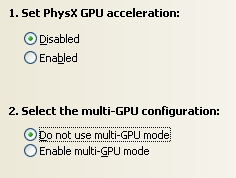 FluidMark score + PhysX disabled