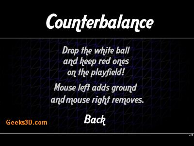Assembly 2009 - Gamedev Rank #1 - Counterbalance