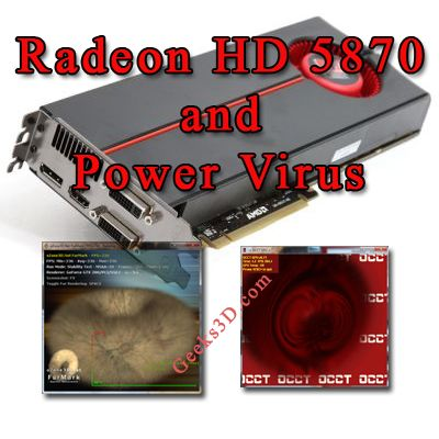Radeon HD 5870 and FurMark, OCCT