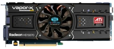 Sapphire Radeon HD 5870 Vapor X