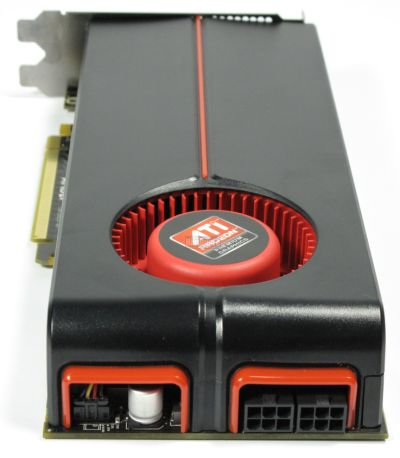 HIS Radeon HD 5850 - power connectors