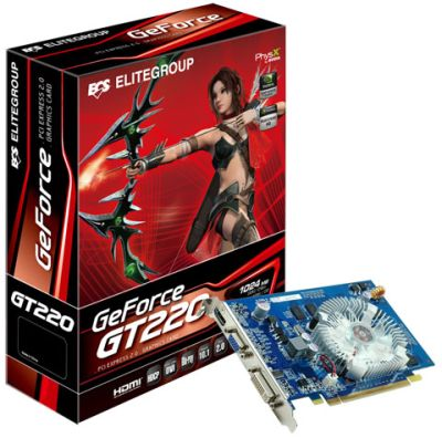 ECS GeForce GT 220