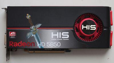 HIS Radeon HD 5850
