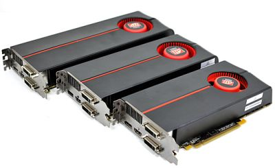 Radeon HD 5770, Radeon HD 5850, Radeon HD 5870