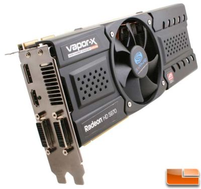 Sapphire HD 5870 Vapor-X