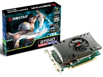Biostar GeForce GT 240