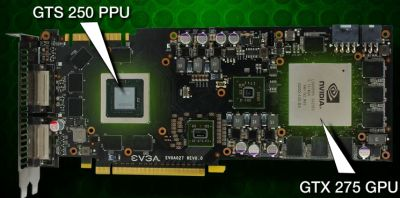 EVGA GeForce GTX 275 CO OP PhysX