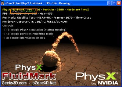 PhysX Visual Indicator