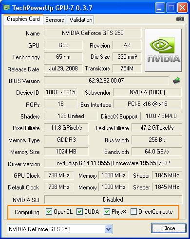 GPU-Z 0.3.7