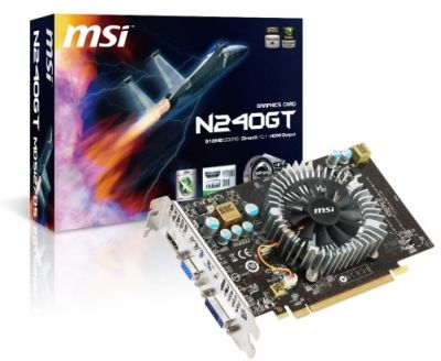 MSI GeForce GT 240