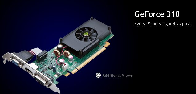 NVIDIA GeForce 310