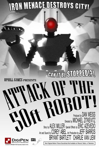 PhysX Game: Attack of the 50ft Robot