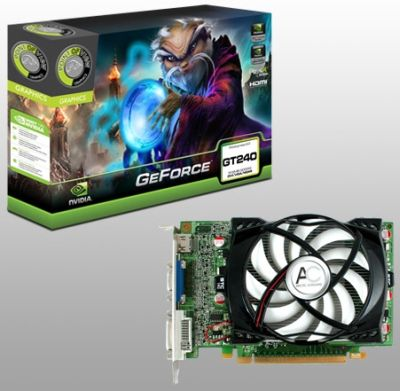 Point of View GeForce GT 240