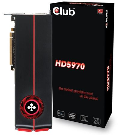 Club3D Radeon HD 5970