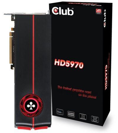 Club3D Radeon HD 5970