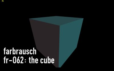 Demoscene - fr-062: the cube