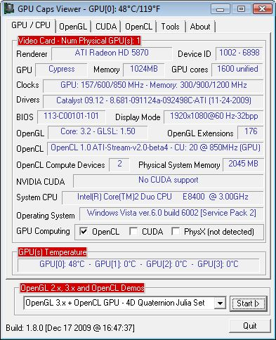 Ati radeon™ hd 5870 eyefinity 6 edition graphics.