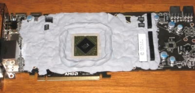Radeon HD 5870 with kneaded eraser